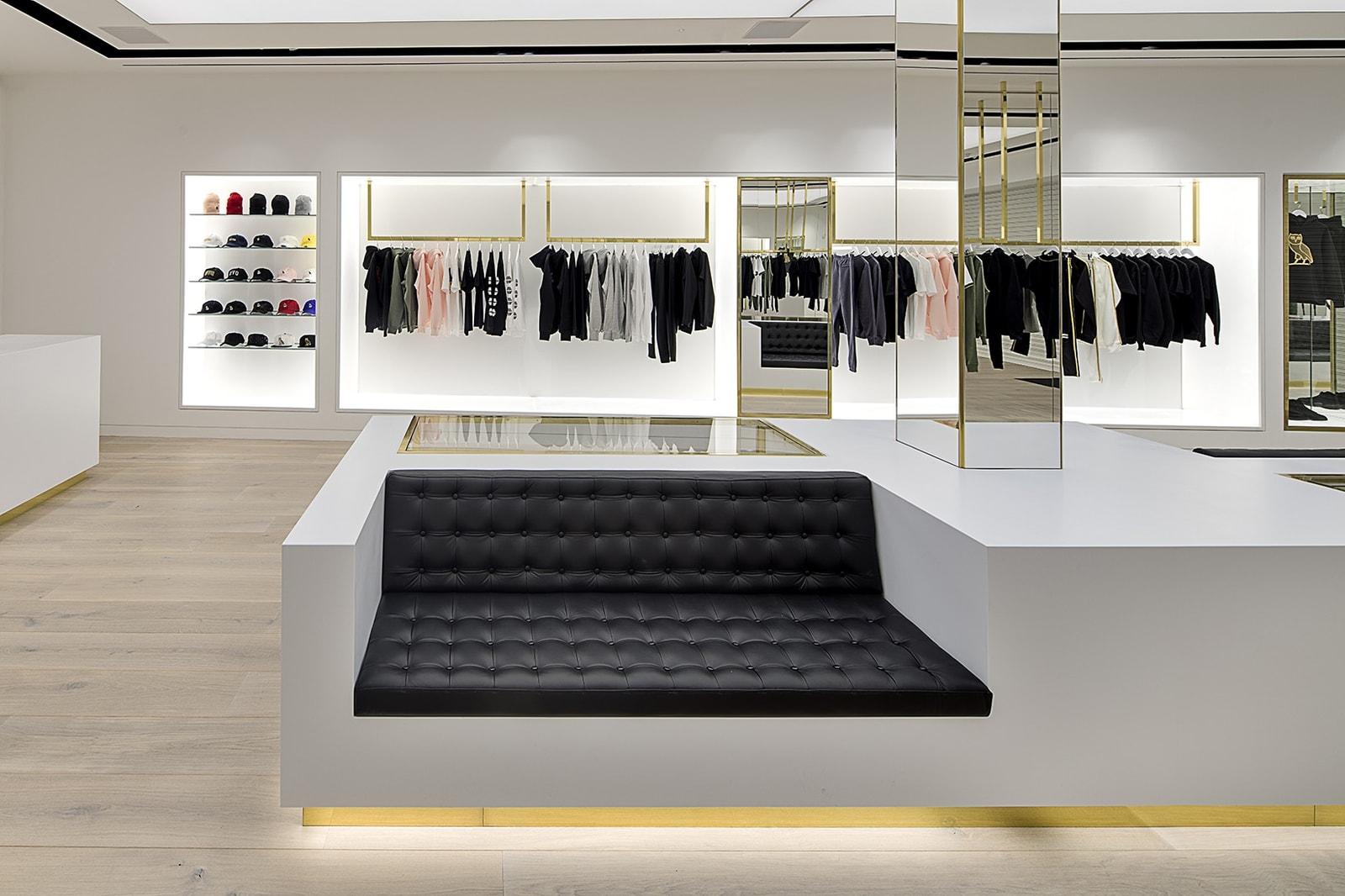 直擊 Drake 主理品牌 OVO 倫敦旗艦店開業現場