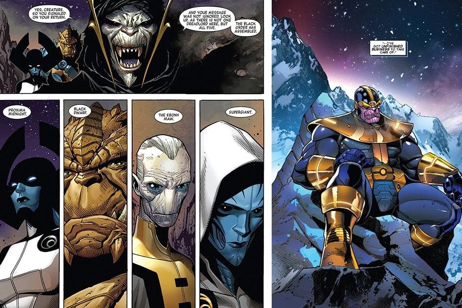 《Avengers》最強反派陣容 Black Order 登上德國雜誌封面