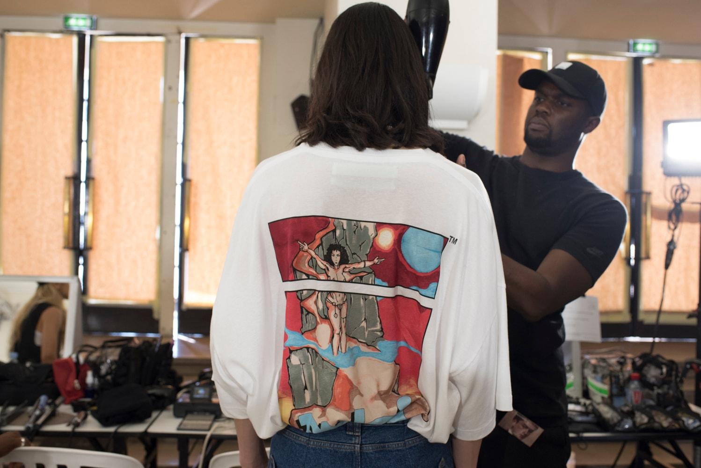 HYPEBEAST 直擊巴黎時裝周 Off-White™ 2019 春夏系列發佈會及後台