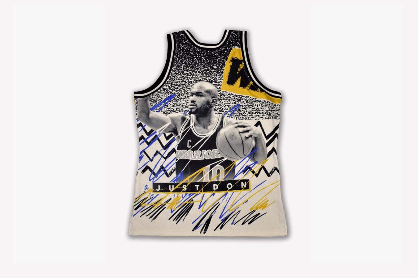 Just Don 打造全新「NBA JAM」復古籃球服及短褲系列