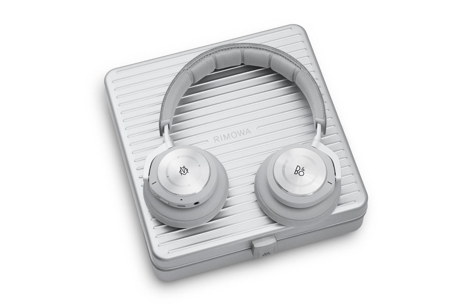 RIMOWA x Bang & Olufsen 全新聯名 Beoplay H9i 無線藍牙耳機登場