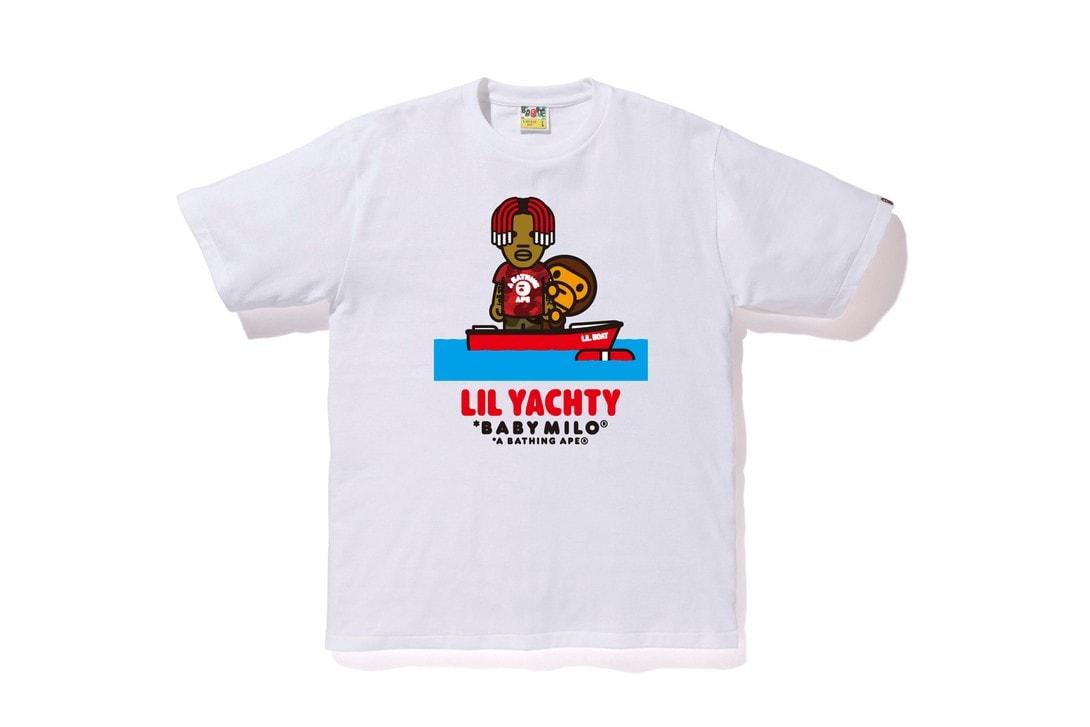 A BATHING APE® x Lil Yachty 2019 春夏聯乘系列發佈