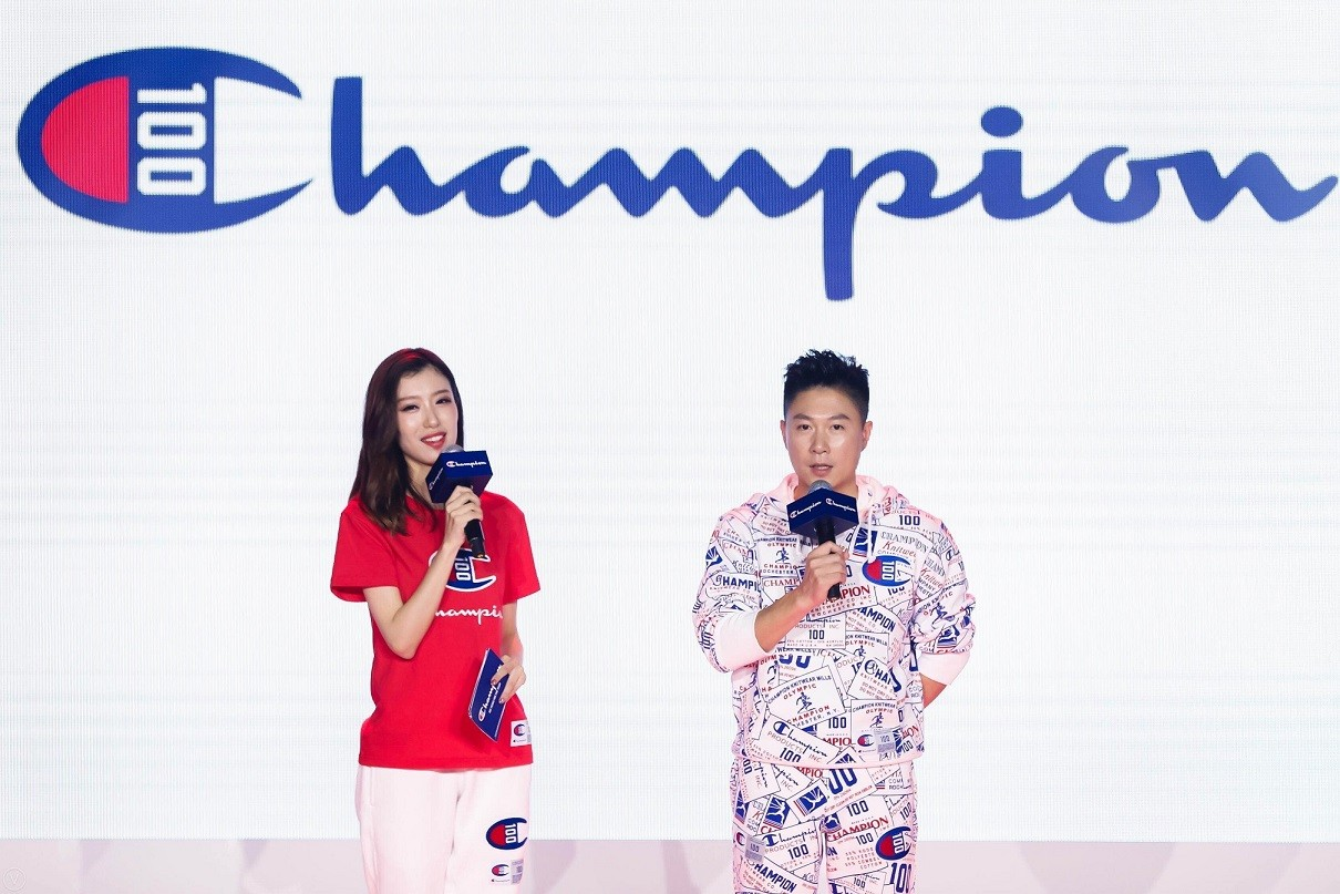 Champion 於上海 800 秀舉行百年慶典活動