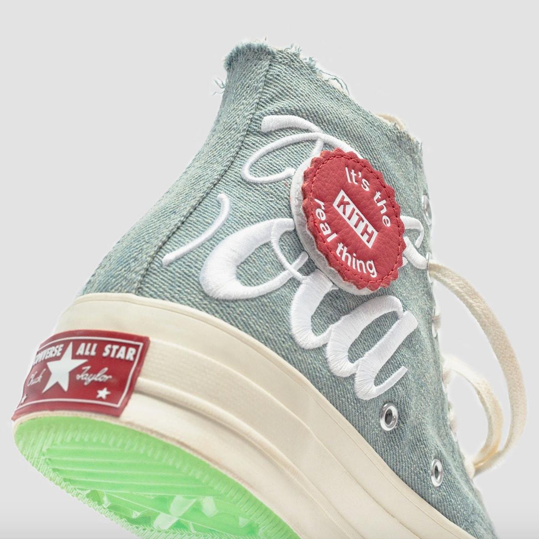 KITH x Coca-Cola x CONVERSE Chuck 70 及 fragment design x Off-White™ 等本週不容錯過的 7 項新品發售