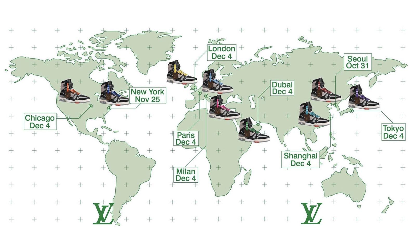 從 YEEZY 到 Louis Vuitton,球鞋「地區限定」新玩法收獲奇效?
