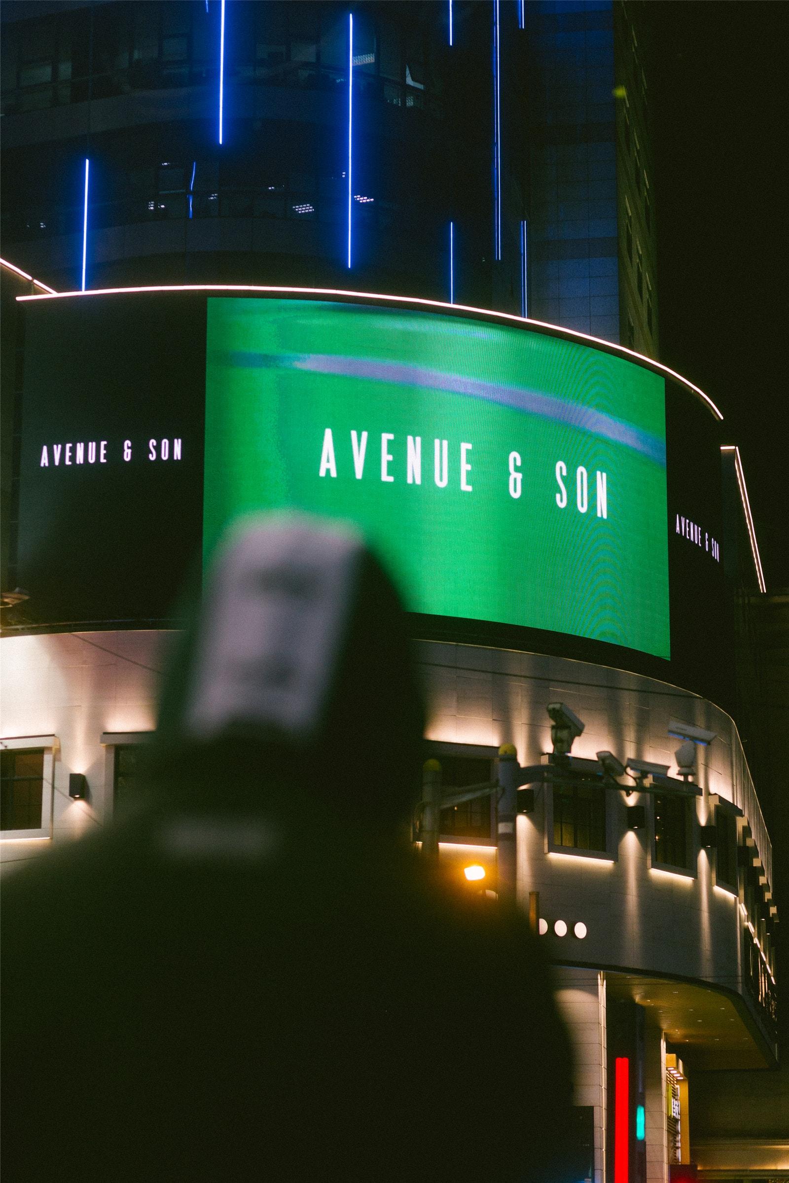 AVENUE & SON 淮海中路大屏幕投放影片外,滑板品牌在中国还做过什么动作?