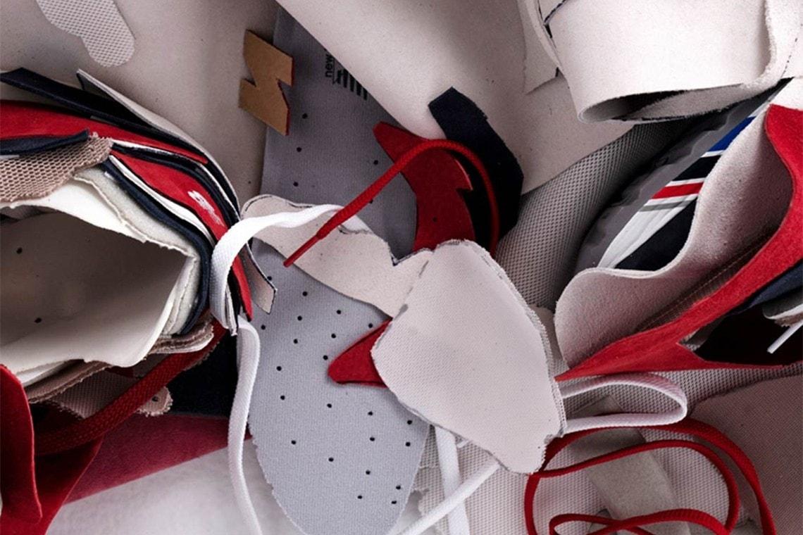 一次颠覆性的实验重组,为运动鞋「可持续性」概念带来新的可能