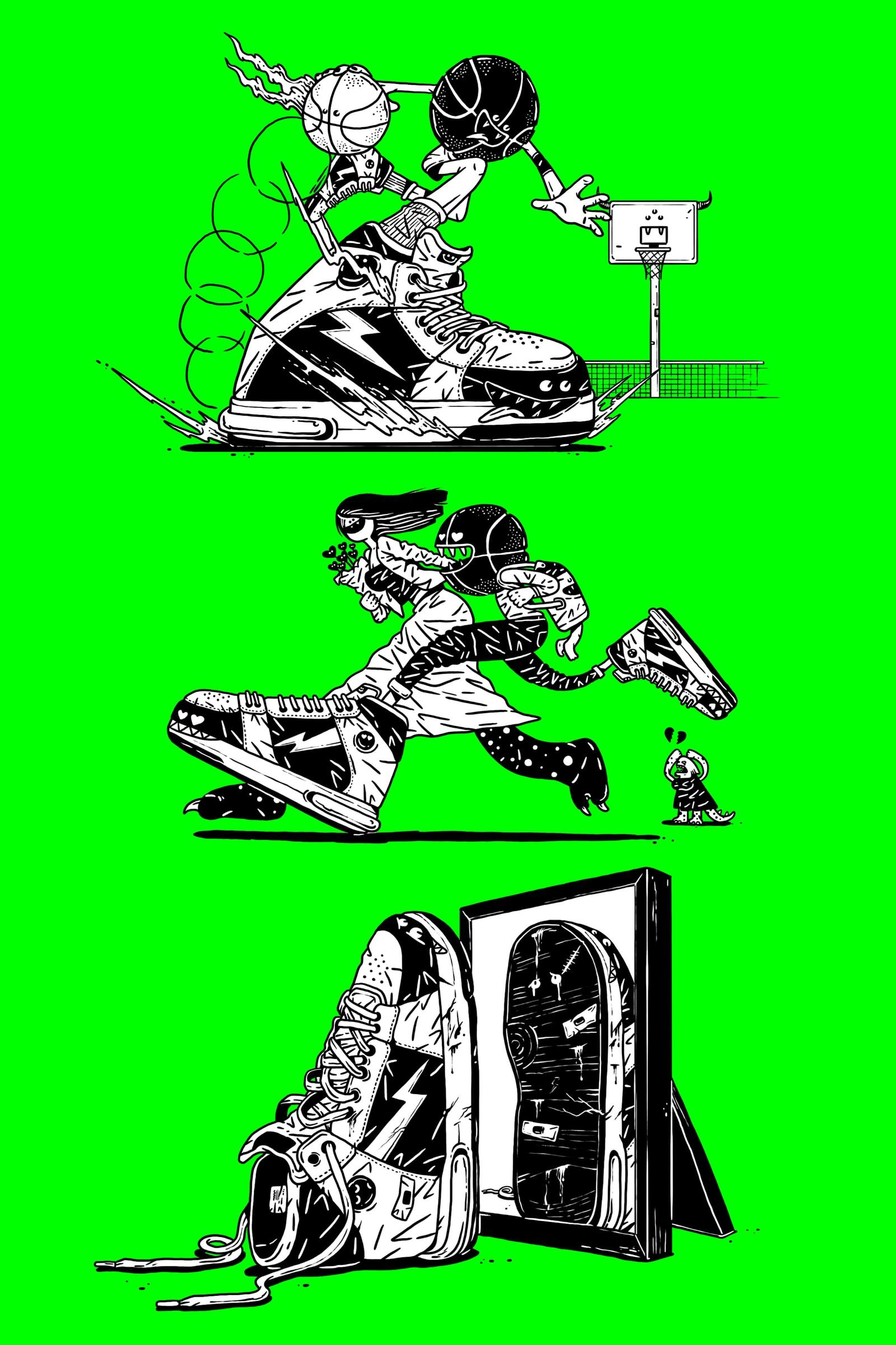 听一双球鞋的自述,看它出生到终结的全球之旅 | Sneaker 的一生