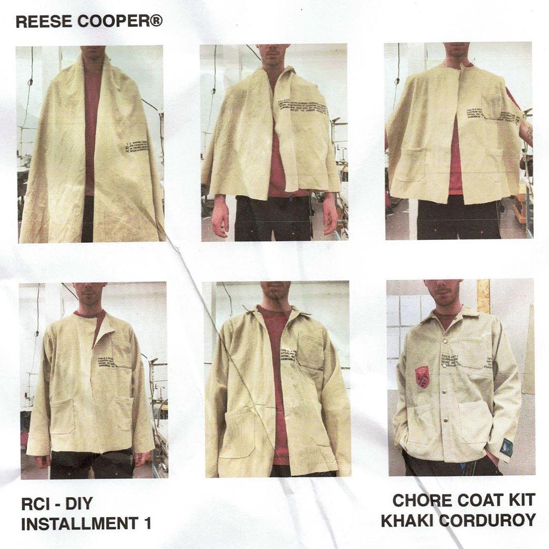 从製作工裝夾克到瑞典肉丸,Reese Cooper 及 IKEA 等為疫情期間準備了多樣化居家 DIY 體驗