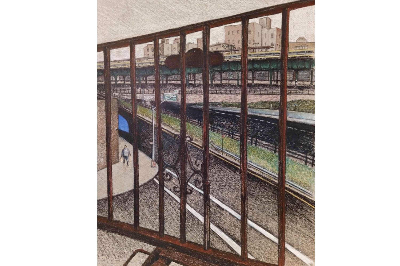 紐約時報邀請 17 位插畫家畫出他們窗外的風景