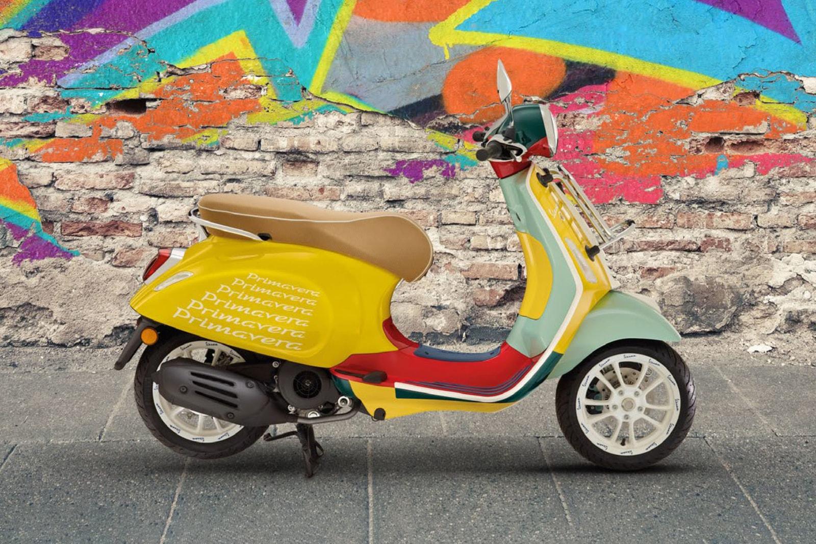 从 Dior 电单车出发,回顾 5 台由时尚单位跨界设计的 Vespa 踏板车