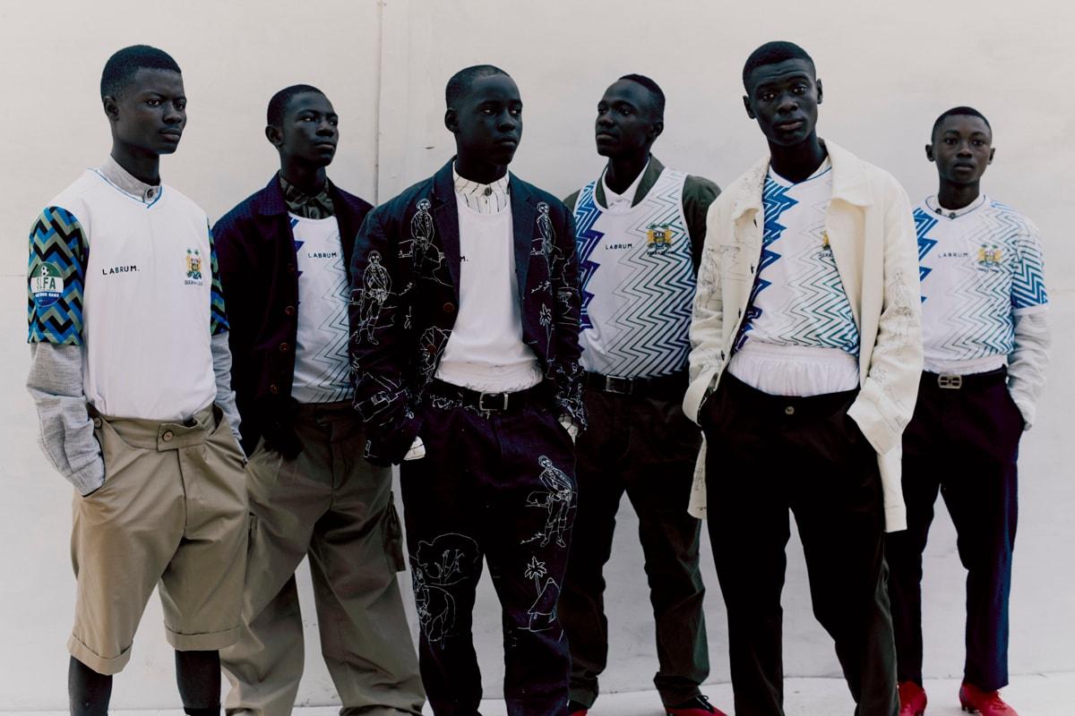 伦敦男装品牌 Labrum 发布 2021 年奥运服装系列