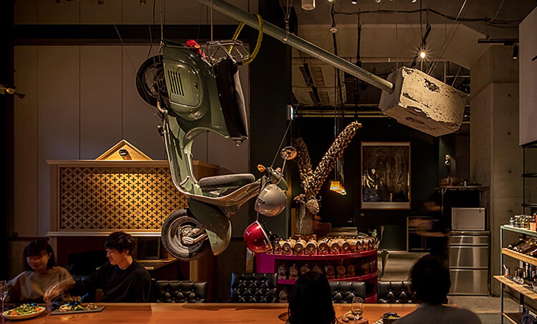 BBB Vol.2「甜酸苦辣鲜」餐厅介绍:位于中目黑高架桥下,三原康裕最喜爱的窑烤肉料理艺术餐厅 Pavilion