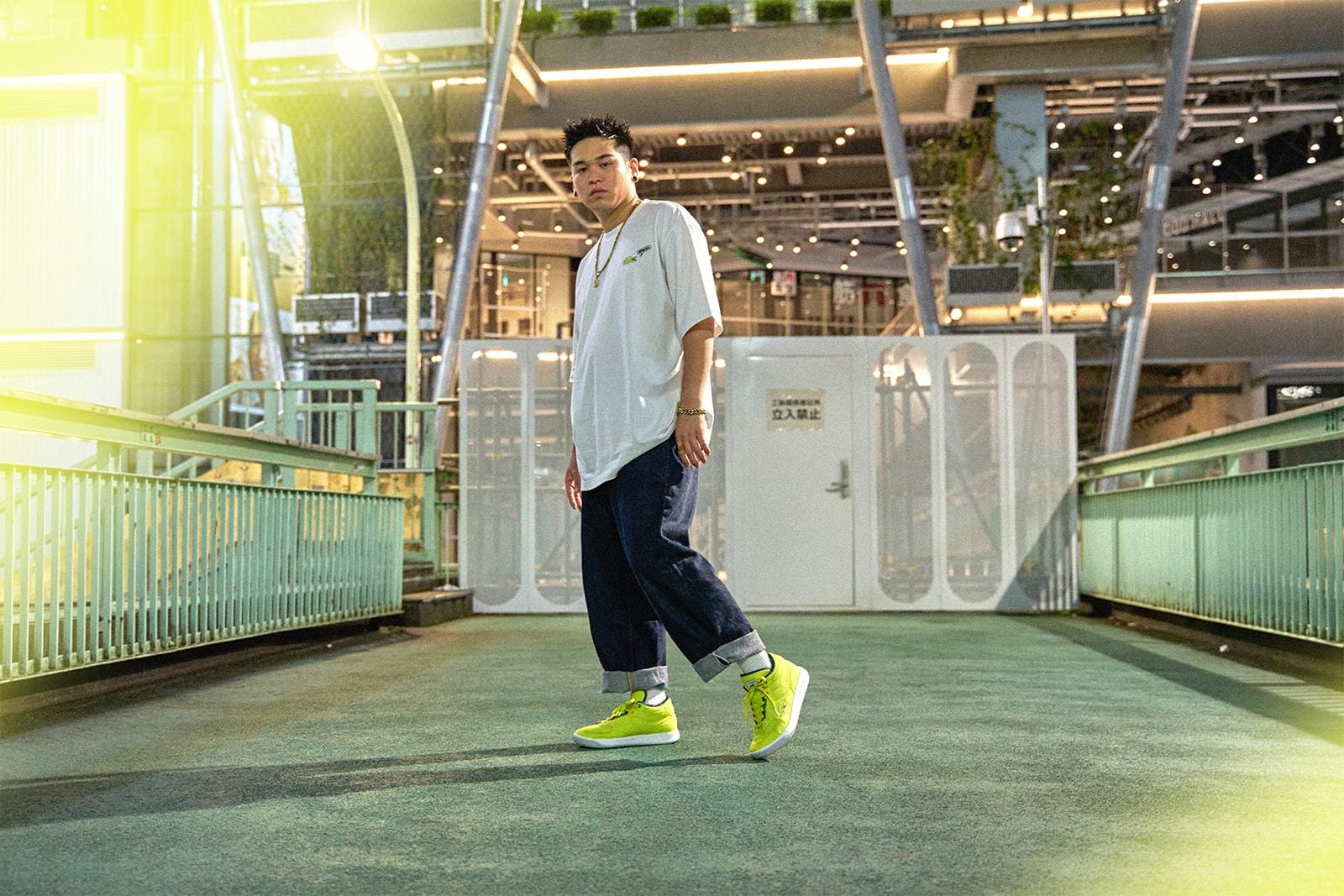 LACOSTE X Atmos 首个限定联名系列发布,展现「街头网球」风
