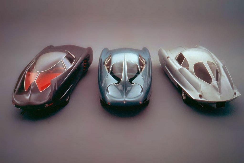 空气动力学传说!三台 Alfa Romeo B.A.T. 绝世跑车将通过 RM Sotheby's 进行拍卖