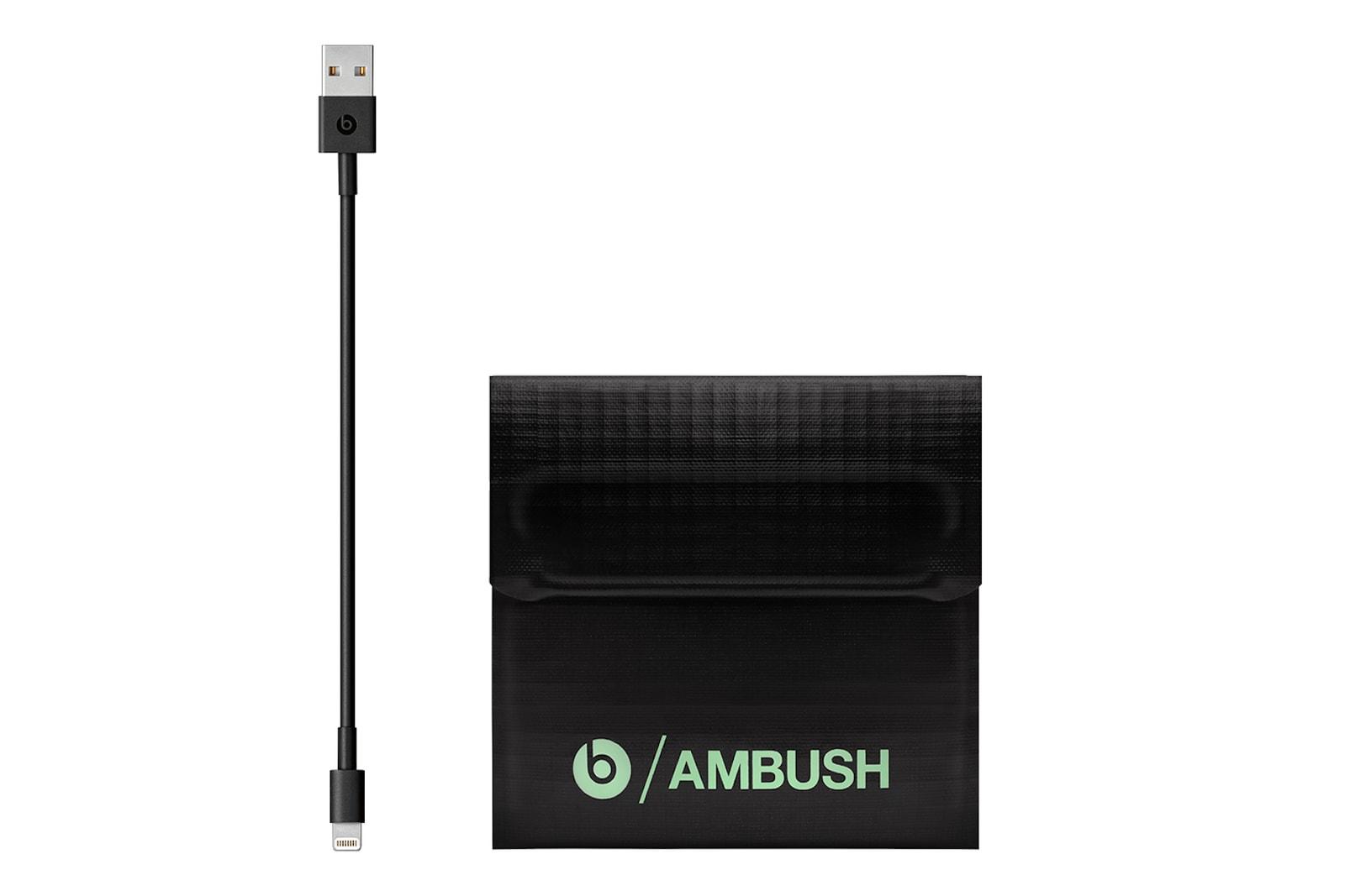 AMBUSH 攜手 Beats 打造夜光版 Powerbeats 無線耳機