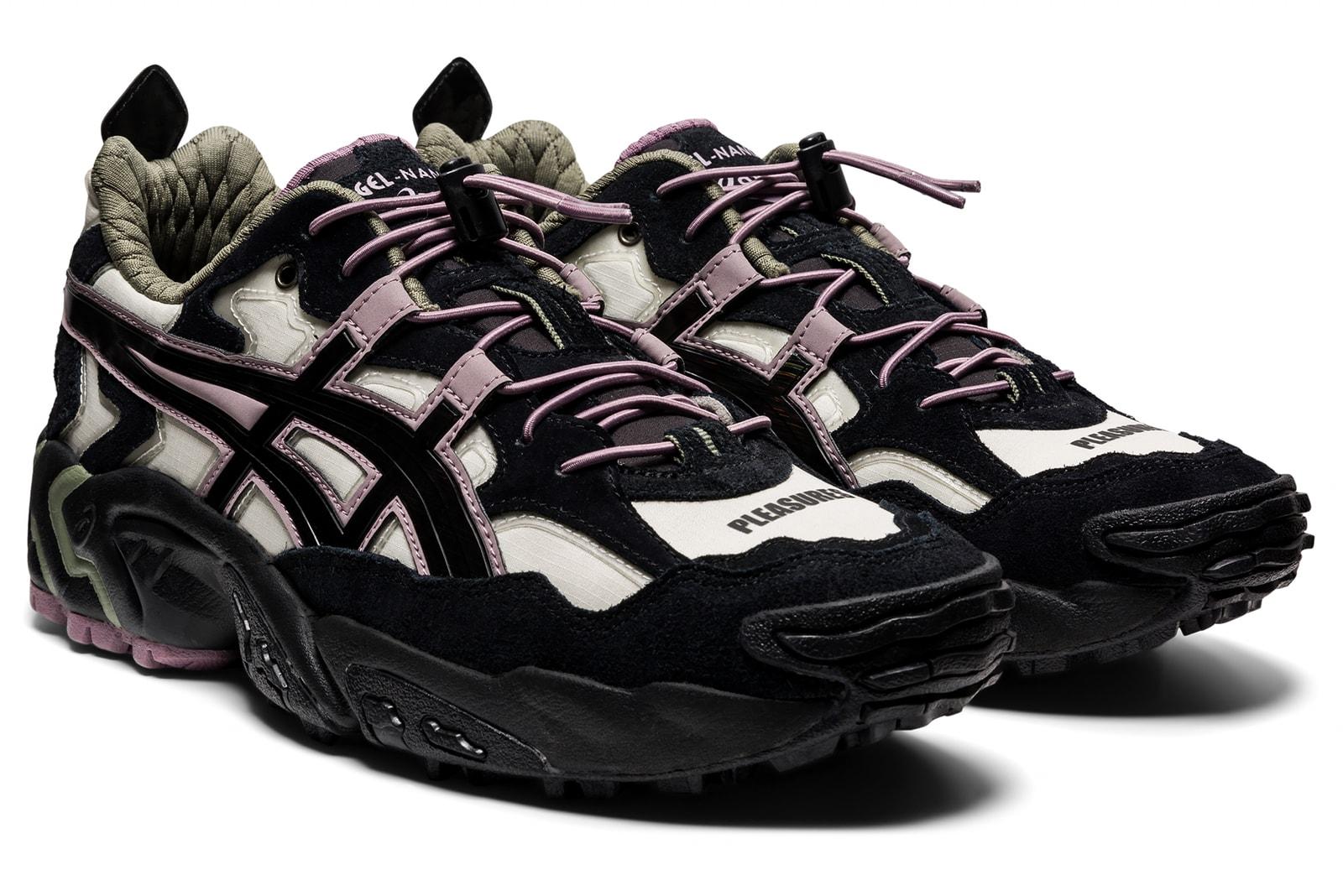ASICS x PLEASURES GEL-NANDI OG 联名鞋款现已正式发售