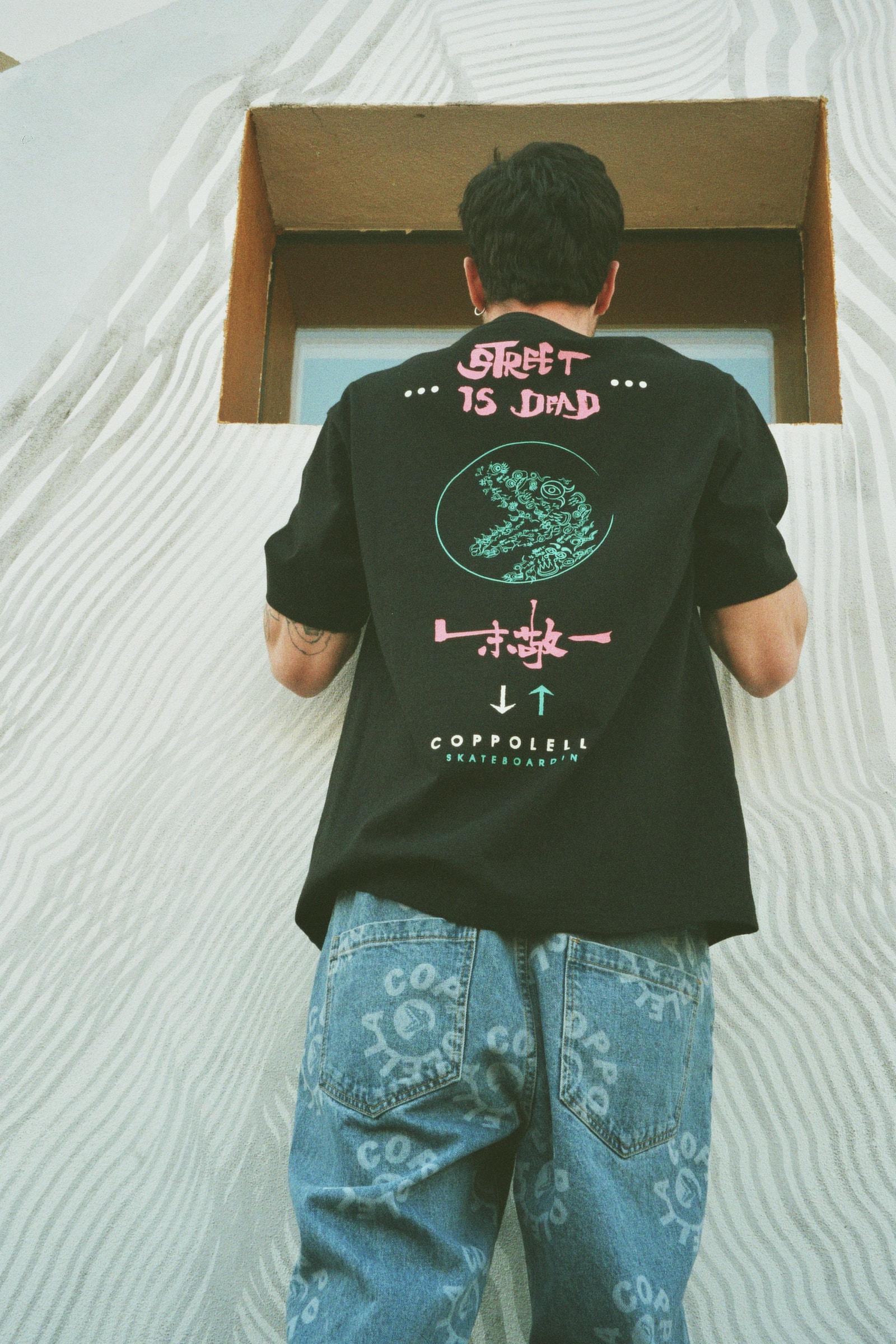 米兰滑板品牌 COPPOLELLA 携手朱敬一打造全新联乘系列