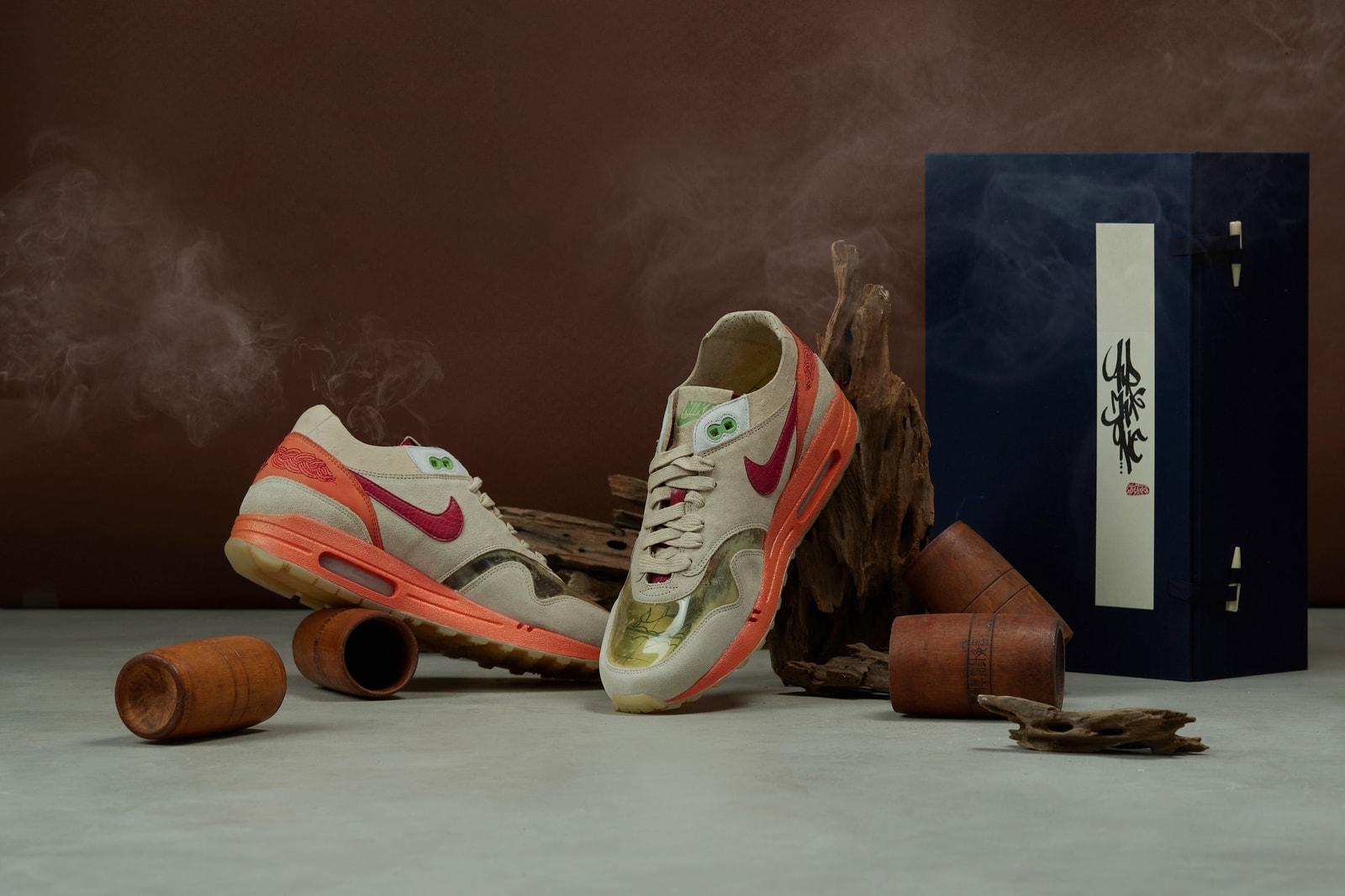 從 7 個角度全面對比四代 CLOT x Nike Air Max 1「Kiss of Death」