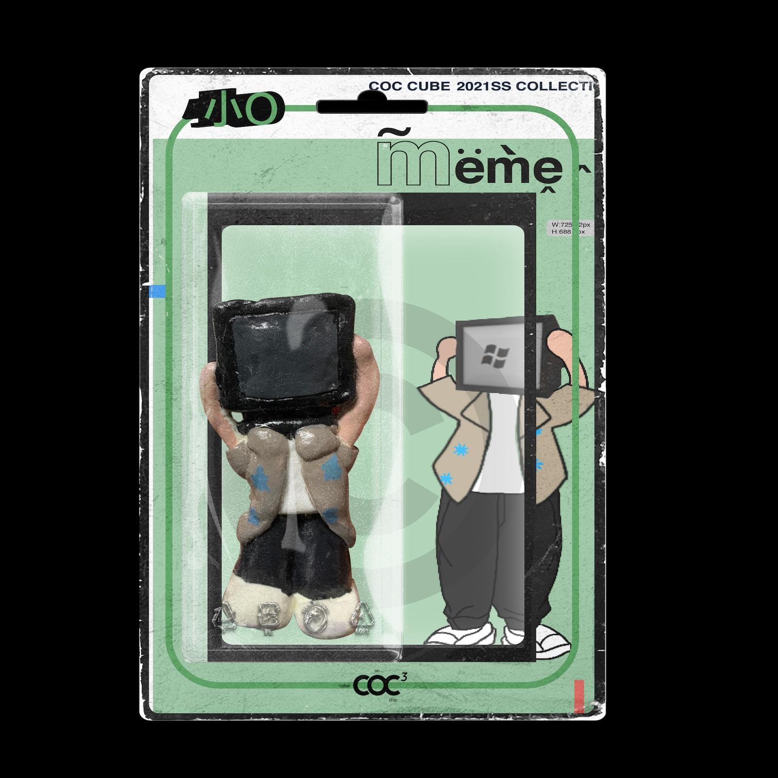 COC CUBE 发布 2021 春夏「MEME」系列 Lookbook