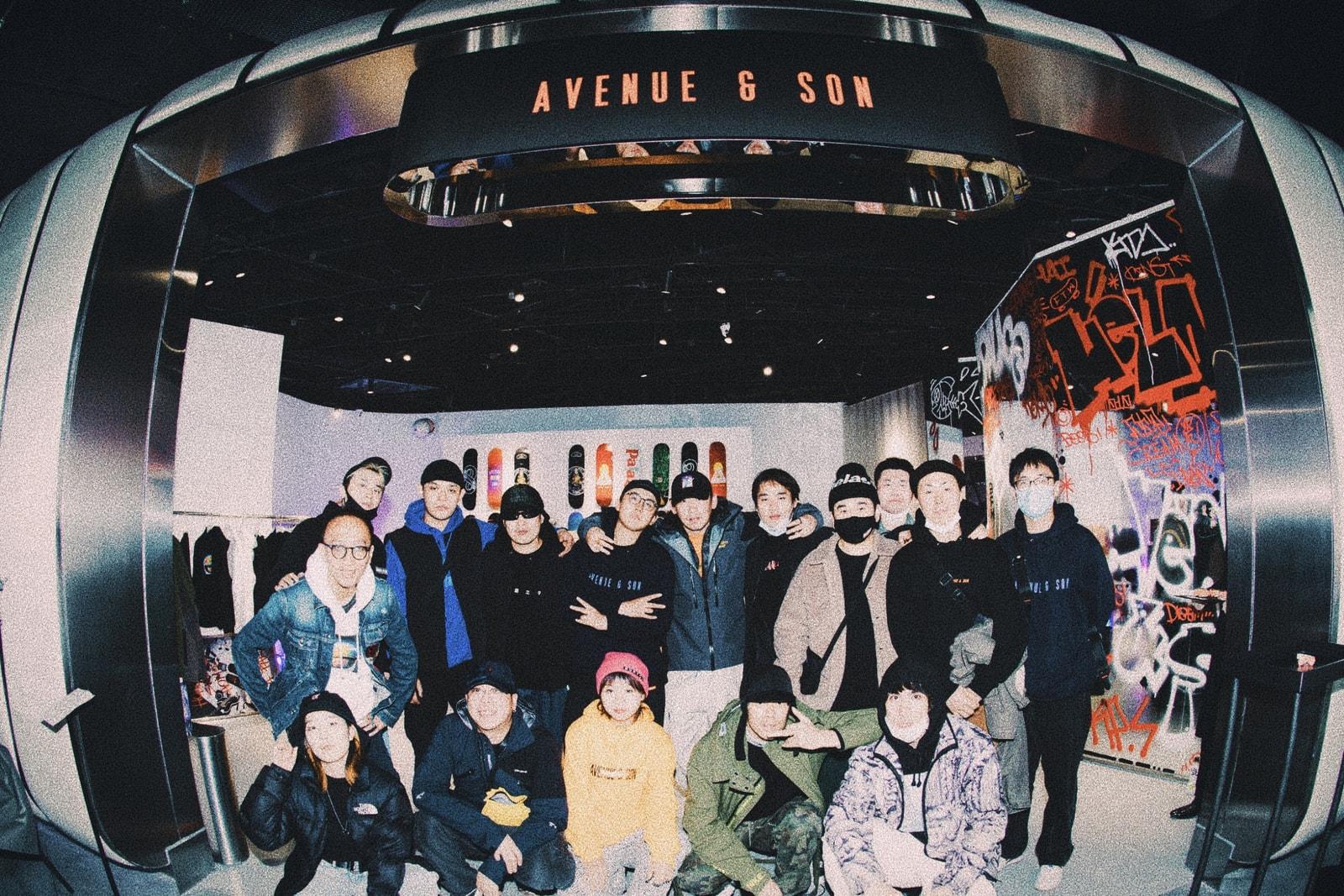 AVENUE & SON 團隊鏡頭下的生活日常,講述滑板與生活、事業緊密相連的故事