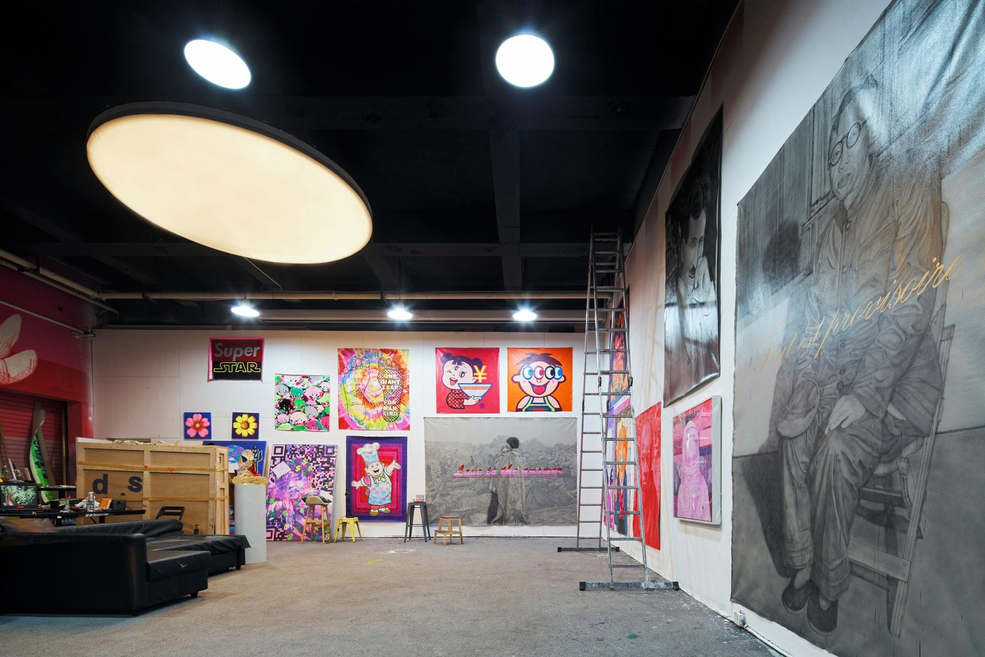 Studio Visits : 庞凡 Fansack