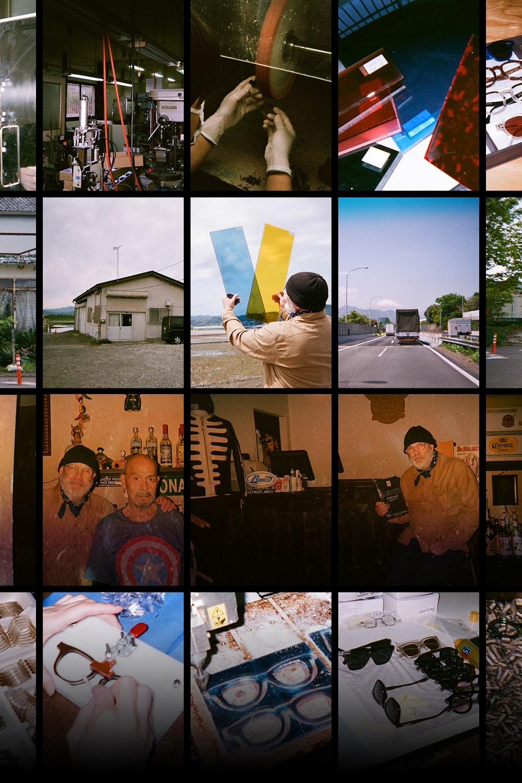 Native Sons 主理人 Tommy O'Gara 用镜头记录眼镜制造的幕后工序