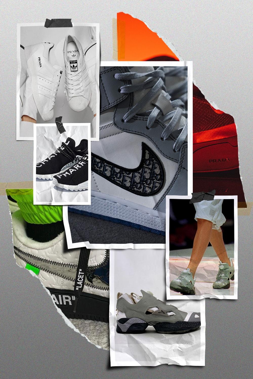 從「借鑒」到「合作」,回溯千禧年以來時裝品牌與運動品牌的球鞋博弈
