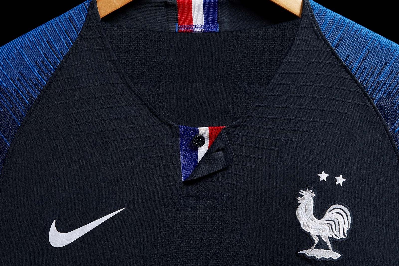 Nike adidas Coupe du Monde 2018 France Sponsors