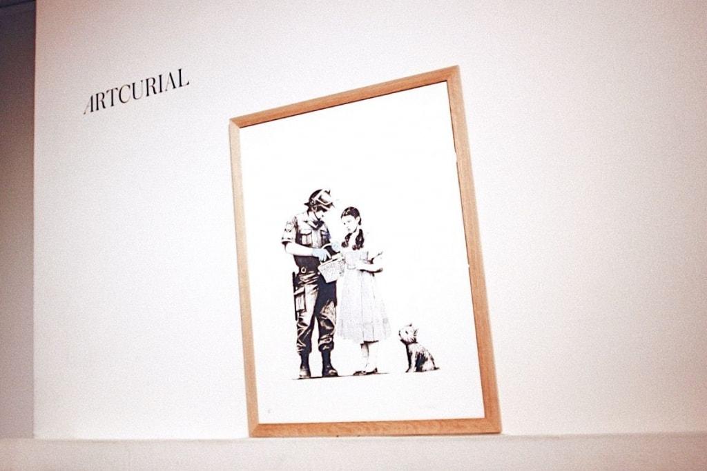 Photo Artcurial Banksy