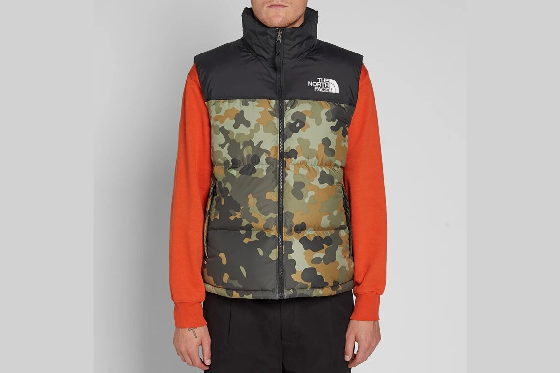 Supreme Nike Off-White Heron Preston Carhartt The North Face Ralph Lauren C2H4 Places + Faces Veste Sans Manches