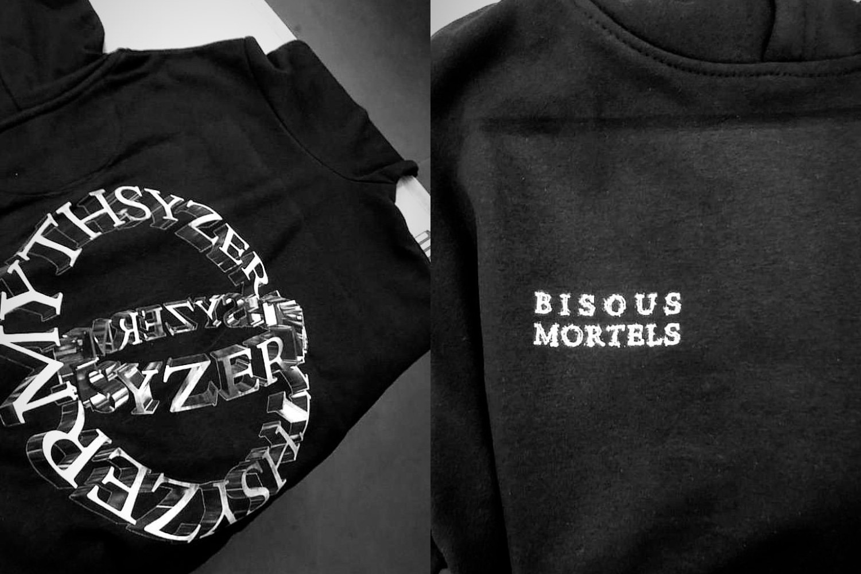 Myth Syzer Bisous Mortels Merch Teaser
