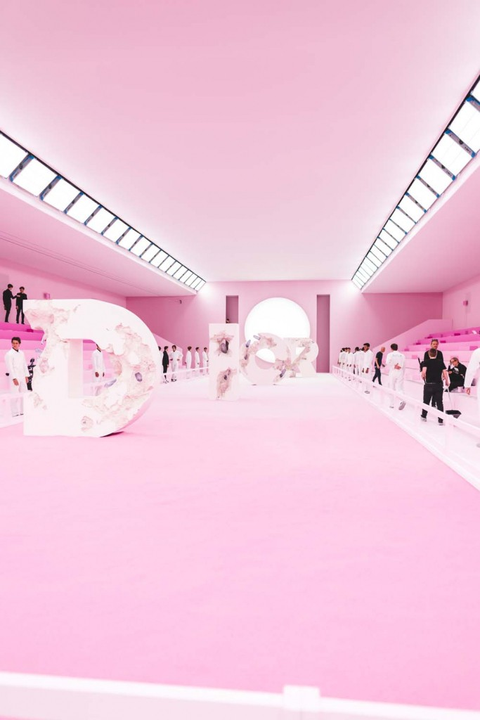 Dior fashion week paris défilé printemps été 2020 backstages photos