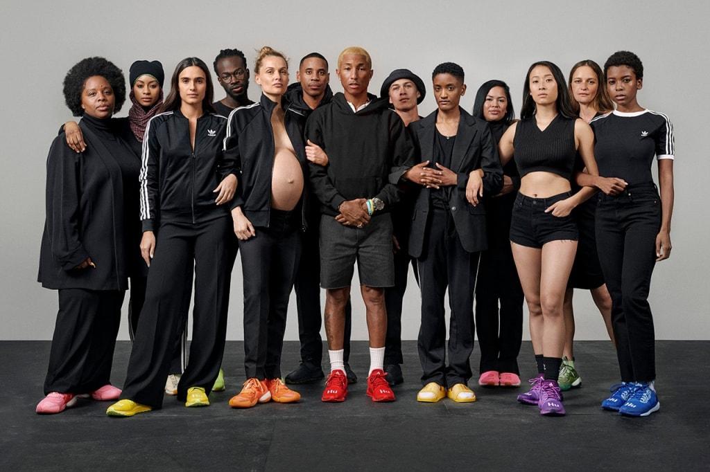 adidas, claquette, Pharrell Williams
