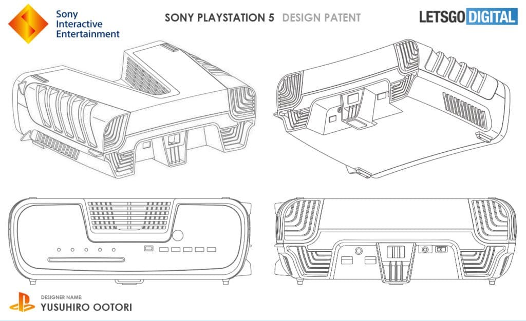 Photos leak design PS5