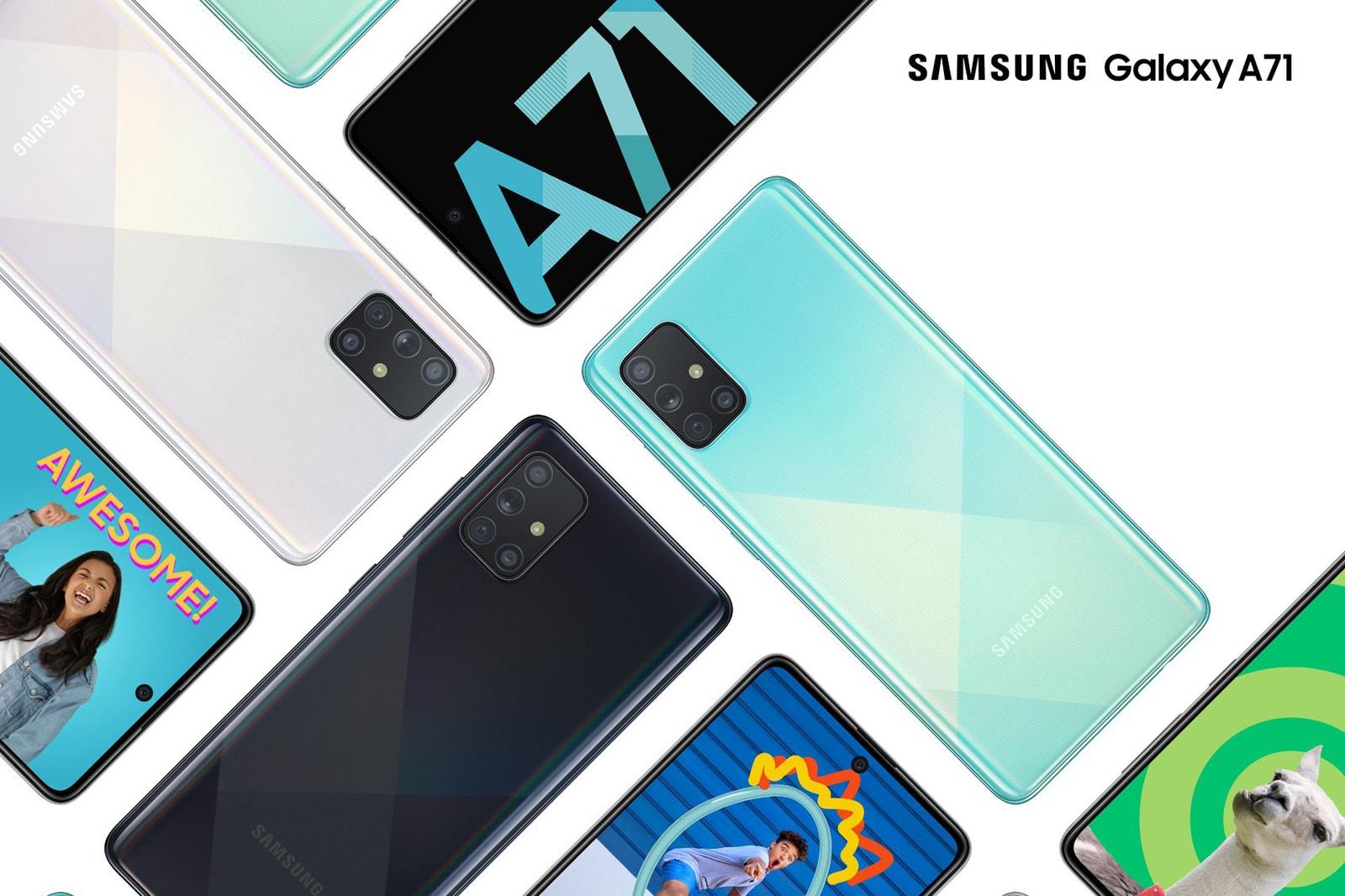 Samsung Galaxy A51 A71 photos