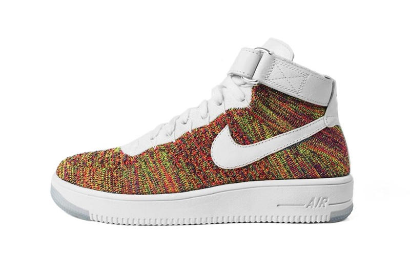 搶先預覽 Nike Air Force 1 Mid Flyknit「Multicolor」配色