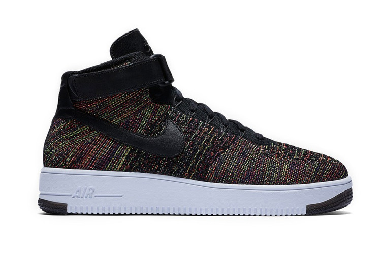 brand new acec4 567fa Nike Air Force 1 Mid Flyknit 全新配色設計