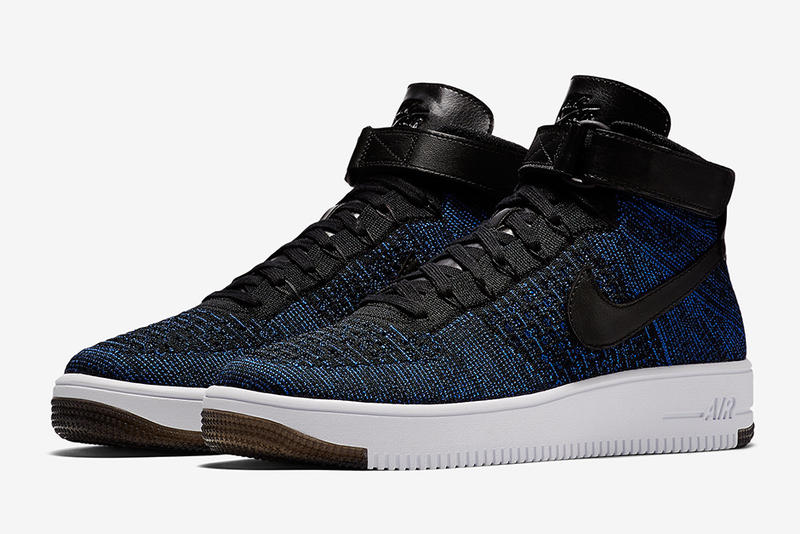 Nike Air Force 1 Mid Flyknit 全新配色設計「Game Royal」