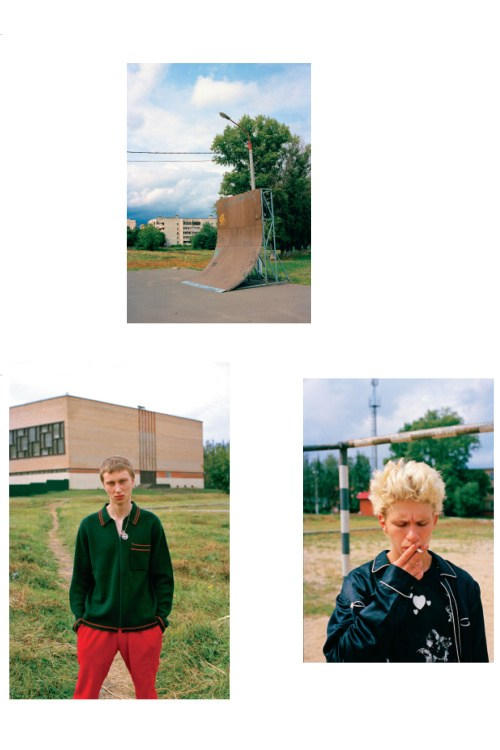 Supreme 2016 Fall/Winter Editorial by Gosha Rubchinskiy for 'POPEYE'
