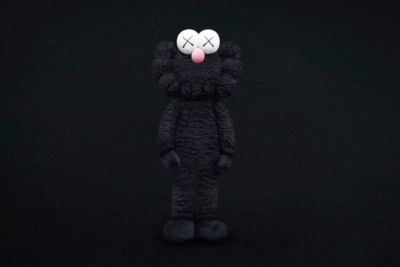 kaws bff black edition for where the end starts