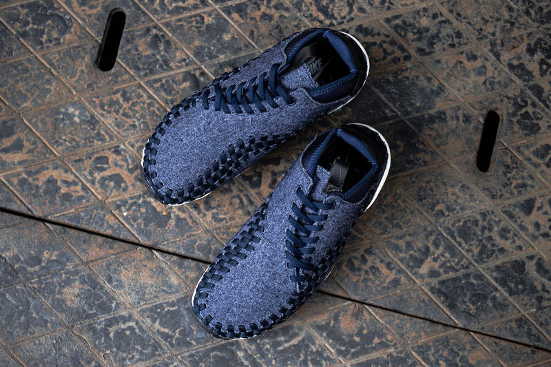 Nike Air Footscape Woven Chukka Denim Closer Look