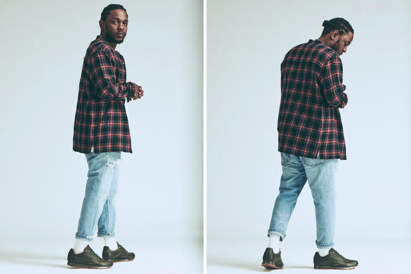 "Kendrick Lamar x Reebok Classic ""Red and Blue"" Collection"