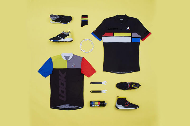 le coq sportif teams up with LOOK for new collection