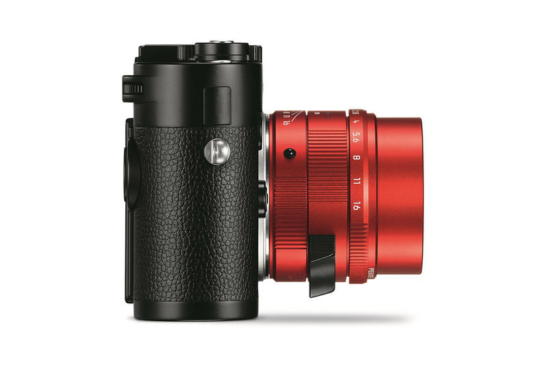 Leica First-Ever Red Lens