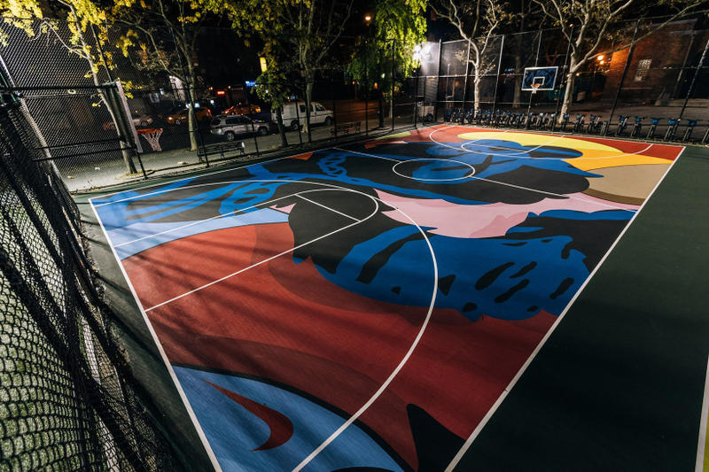 Nike KAWS New York City's Stanton Street Courts
