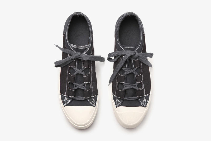 needles 2017 ss asymmetric ghillie sneaker