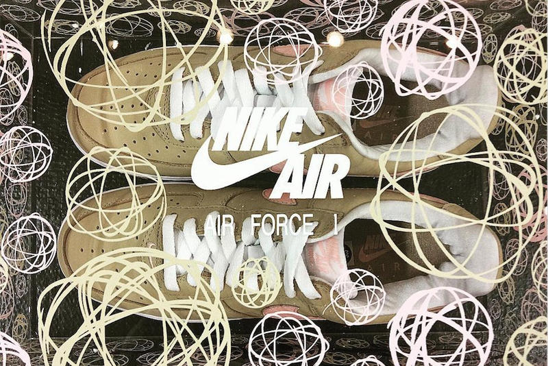 "Nike Air Force 1 ""Linen"" Re-Release KITH"