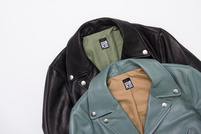 SSUR*PLUS 2016 Fall/Winter Leather Jacket
