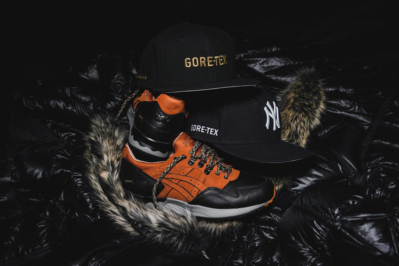 "Packer Shoes x ASICS Tiger & New Era ""Scary Cold"""
